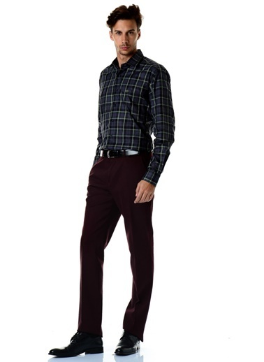 Beymen Business Klasik Pantolon Bordo